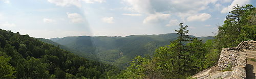 View of the Tye River Valley