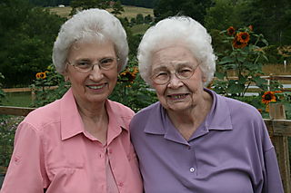 Granny and Evelyn