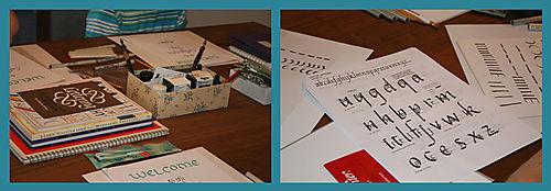 Papers, Books, Pens, Inks, aaah!
