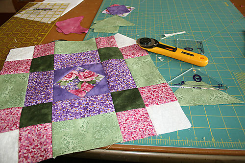 Square Acres Quilt Block