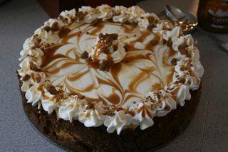 Pumpkin Caramel Swirl Cheesecake