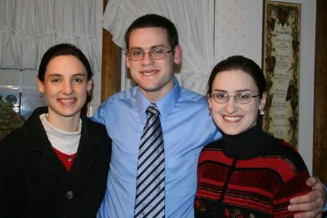 My treasures: Hannah, Jonathan, and Sarah
