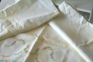 My three pillowcases