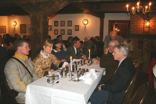 Dinner table fellowship
