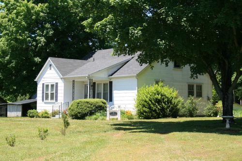 Little white house on 58 where Deb grew up