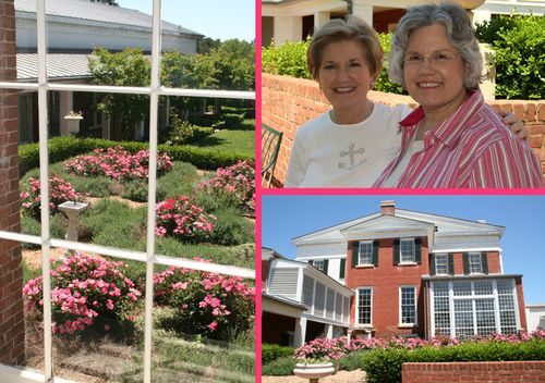 Rose Garden ~ Carolyn and Deb