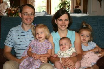 Kenton and Anna and family