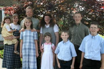 Dan, Jan, and family