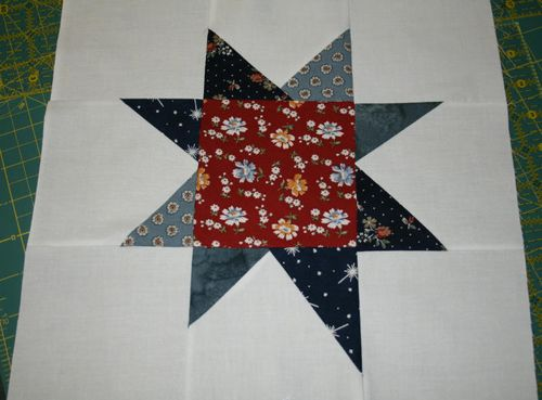 Wonky Star made for Crazy Mom Quilts