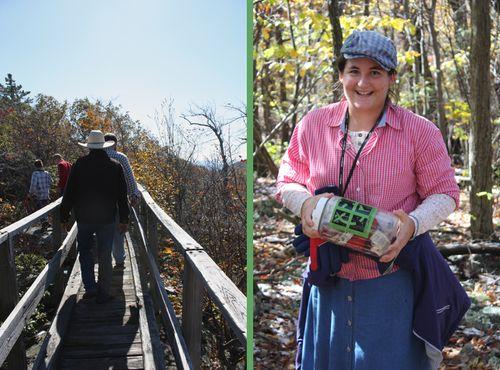 Wooden Bridge at Wolf Gap / Kandace found it!