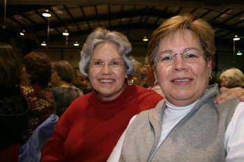Deb and Christine at the show!
