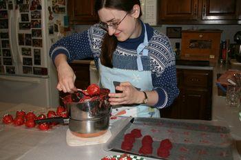 Sarah dipping cake balls