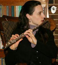 Hannah on flute