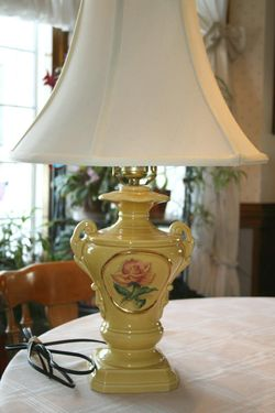 Antique Lamp ~ Would you keep it? Or sell it?