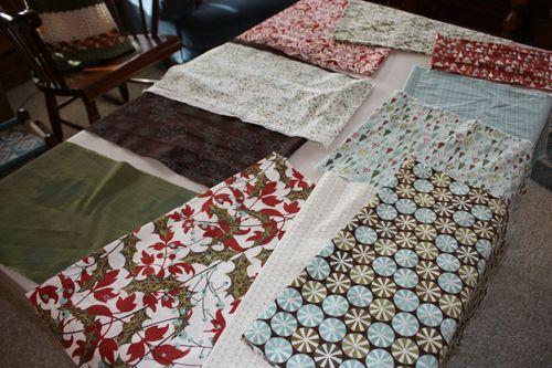 Figgy Pudding fabric