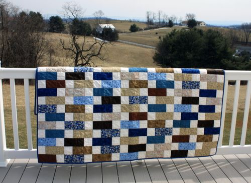 Road to Spring quilt