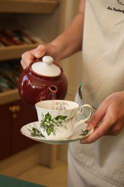 Tea at Mrs. Hardesty's