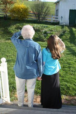 Granny and Sarah