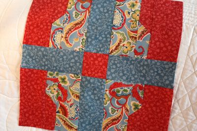 Block 5 ~ Jelly Roll  Quilt-Along