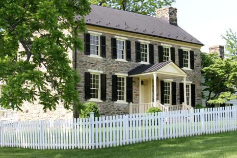 Historic home at Sky Meadows State Park, Copyright Hannah G. Girotti