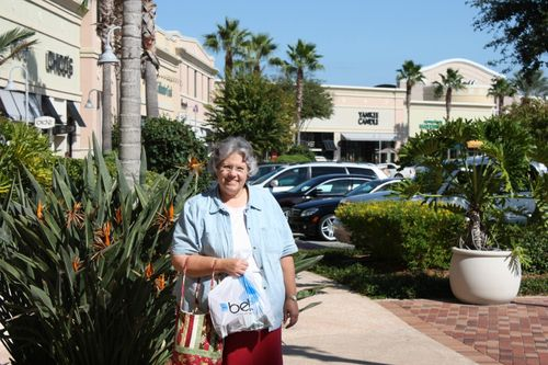 Deb at The Avenue shopping