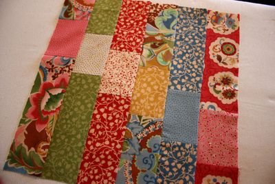 Block 4 ~ Jelly Roll Quilt-Along