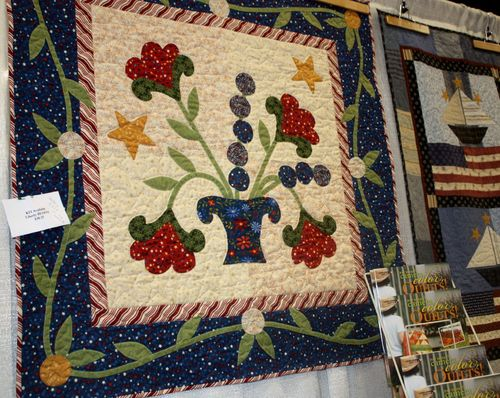 Liberty Bloom ~ Pat Sloan's pattern and quilt kit