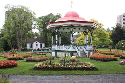 Gazebo in Halifax Public Gardens