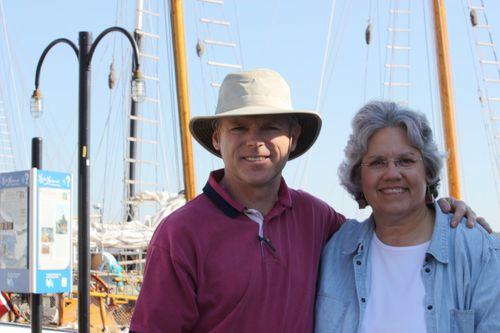 Tom & Deb on their 30th anniversary