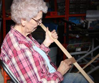 Granny sanding handles
