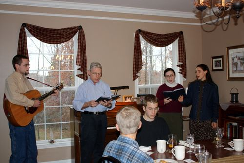 Girotti family presents music on Thanksgiving afternoon