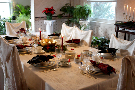Beautiful tea table set
