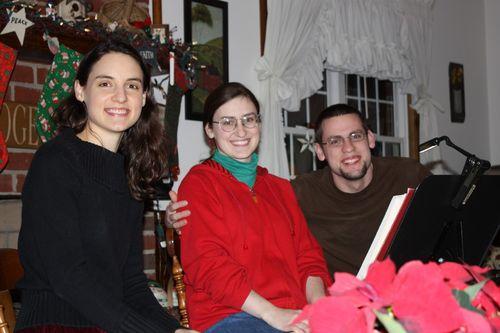 Christmas Eve Program ~ Hannah, Sarah, & Jonathan