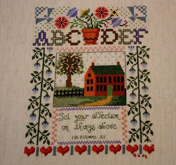 Completed House Sampler