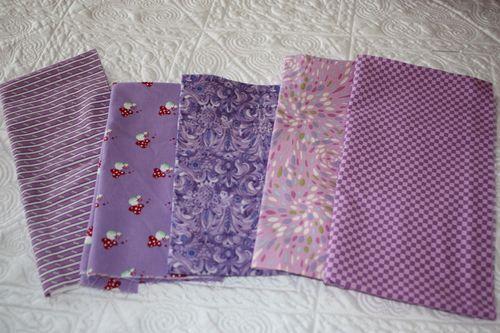 Purple fabrics from Texas!