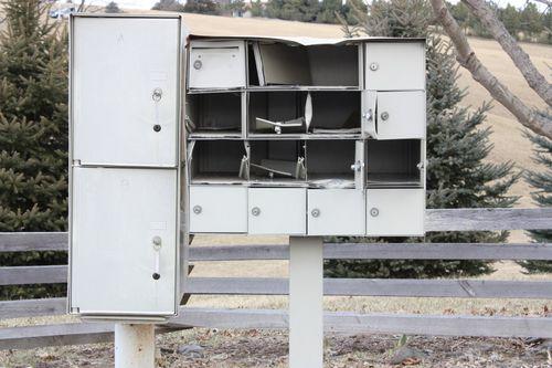 Mailbox Vandalism