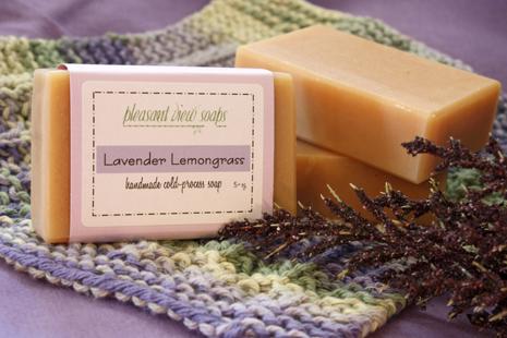 Lavender Lemongrass Pleasant View Soaps