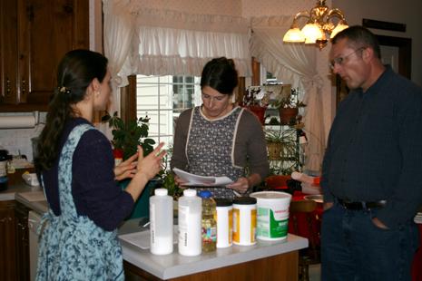 Explaining cold -process soap