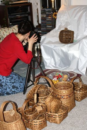 Basket Photo Shoot