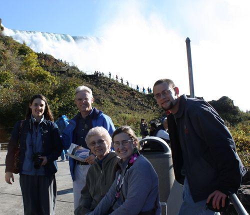 The gang at Niagara Falls
