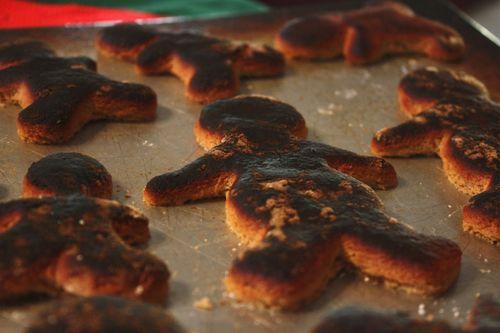 Fired up gingerbread men!