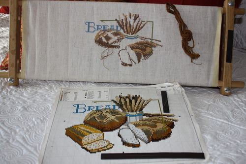 Bread x-stitch ~ next UFO project