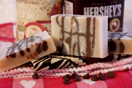 Chocolate Swirl Soap Pleasant View Soaps