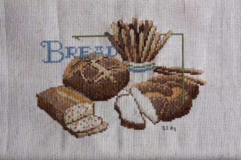 Finished Bread X-stitch