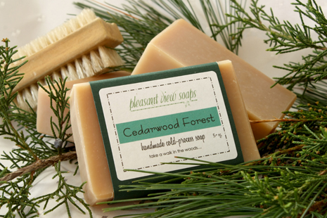 Cedarwood Forest Pleasant View Soaps