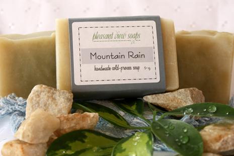 Mountain Rain Pleasant View Soaps