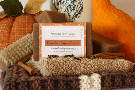 Pumpkin Maple Spice Pleasant View Soaps