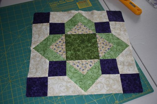 May Saturday Sampler Block