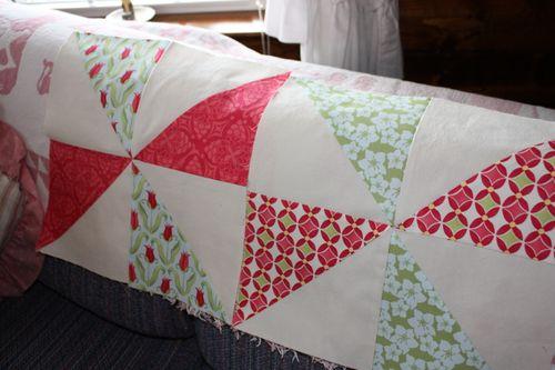 Verna pinwheel quilt blocks