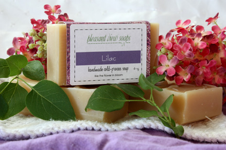 Lilac Pleasant View Soaps